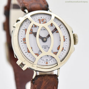 1910's Vintage Cyma WWI-era Military Nickle Trench Watch