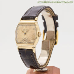 1940's Vintage Gruen Veri-thin 10k Yellow Gold Filled Watch