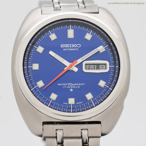 1969 Vintage Seiko Reference 6106-8237 Stainless Steel Watch