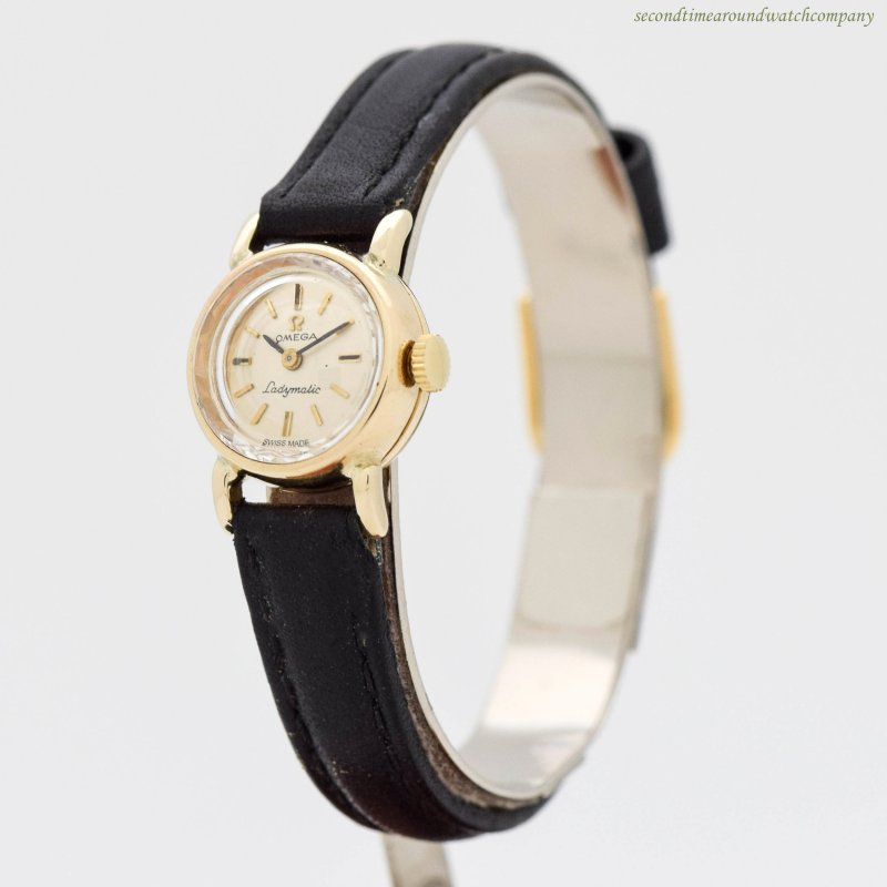 1968 Vintage Omega Ladies 14K Yellow Gold watch