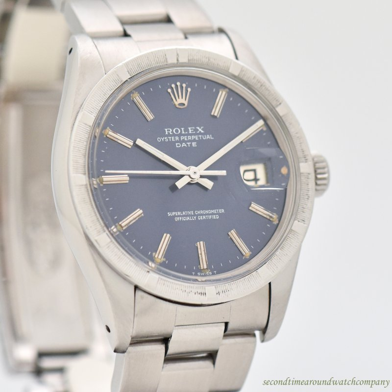 1973 Vintage Rolex Date Automatic Reference 1501 Stainless Steel Watch