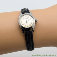 1970's Vintage Wittnauer Ladies Ref. 2320 Stainless Steel Watch