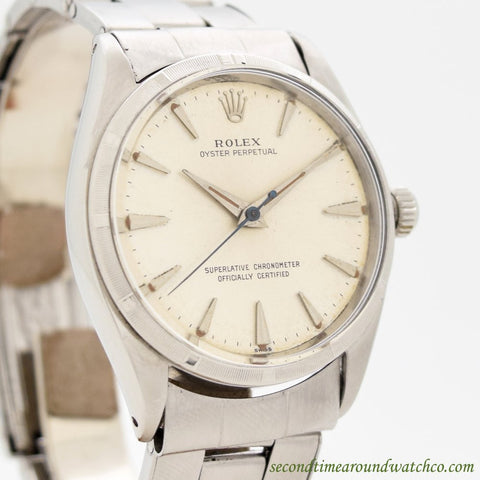 1963 Vintage Rolex Oyster Perpetual Ref. 1003 Stainless Steel Watch