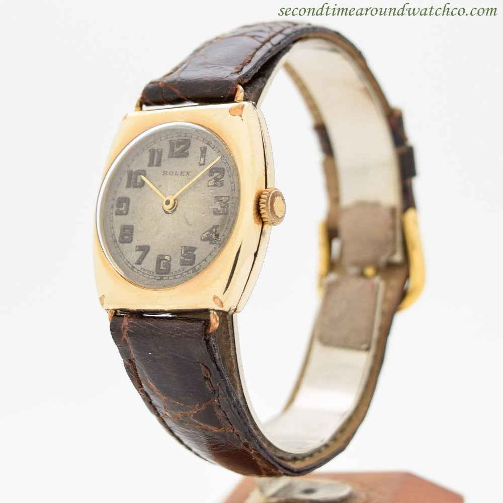 1934 Men's Vintage Rolex  14k Yellow Gold Filled