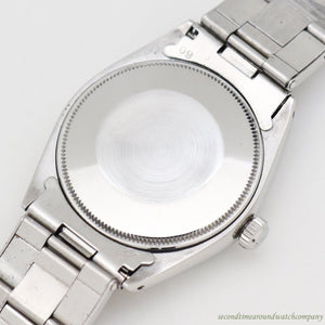 1962 Vintage Rolex Air-King Reference 5500 Stainless Steel Watch