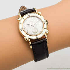 1947 Vintage Longines 14k Yellow Gold/14K White Gold/Diamonds Watch