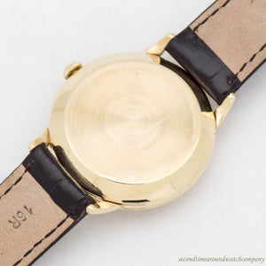 1952 Vintage Omega Automatic Ref. G6518 14k Yellow Gold Watch