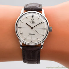 1959 Vintage Omega Geneve Ref. 14702-1 Stainless Steel Watch