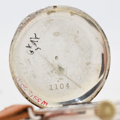 1910's Vintage Signal Corps WWI-era Military Silver Watch