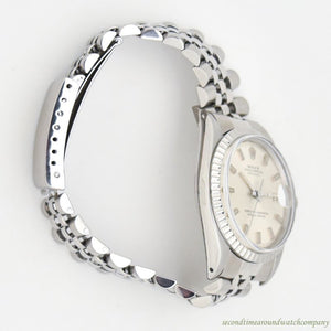 1967 Vintage Rolex Datejust Reference 1601 Stainless Steel Watch