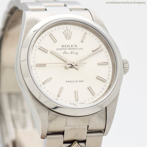 2006 Rolex Air-King Ref. 14000-M Stainless Steel Watch