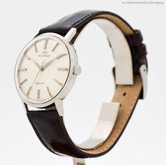 1960's Vintage Movado Kingmatic Sub Sea Stainless Steel Watch