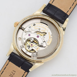1940's-50's Vintage Jaeger LeCoultre Automatic 10k Yellow Gold Filled Watch