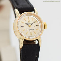 1968 Vintage Omega Ladymatic 14k Yellow Gold Watch