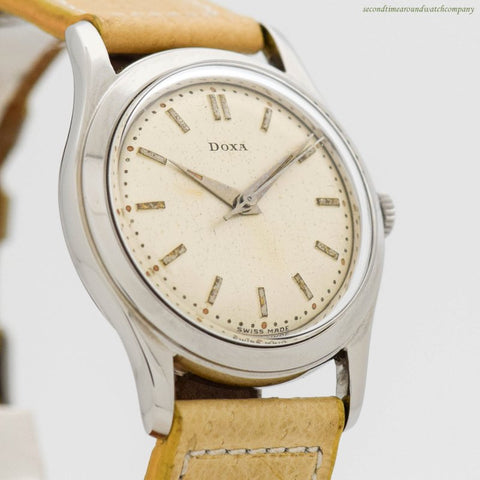 1960's era Doxa Ref. 9880A Stainless Steel Watch