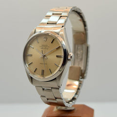 1972 Vintage Rolex Air-king Stainless Steel Ref. 5501/1002 Watch