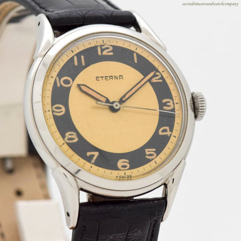 1950's Vintage Eterna Stainless Steel Watch