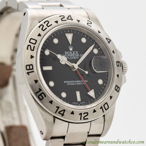 1995 Rolex Explorer II Ref. 16570 Stainless Steel Watch