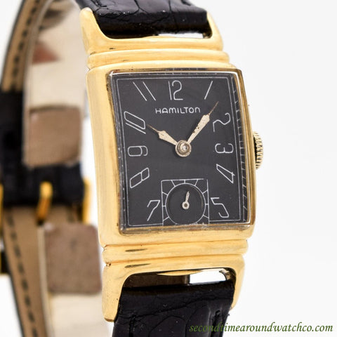 1939 Vintage Hamilton 14k Yellow Gold Filled Watch