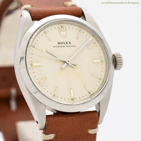 1961 Vintage Rolex Oyster Royal Ref. 6426 Stainless Steel Watch