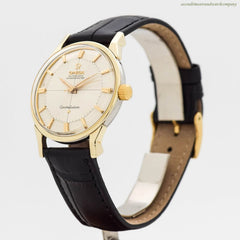 1961 Vintage Omega Constellation Ref. 14900-61-SC 14k Yellow Gold Shell & Stainless Steel Watch