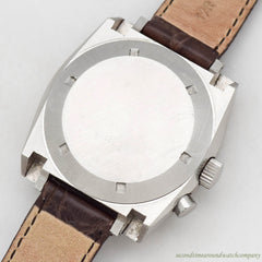 1960's Vintage Aquastar Regate Yacht Timer Ref. 9854 Stainless Steel Watch