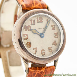 1920's Vintage Gruen Sterling Silver Watch