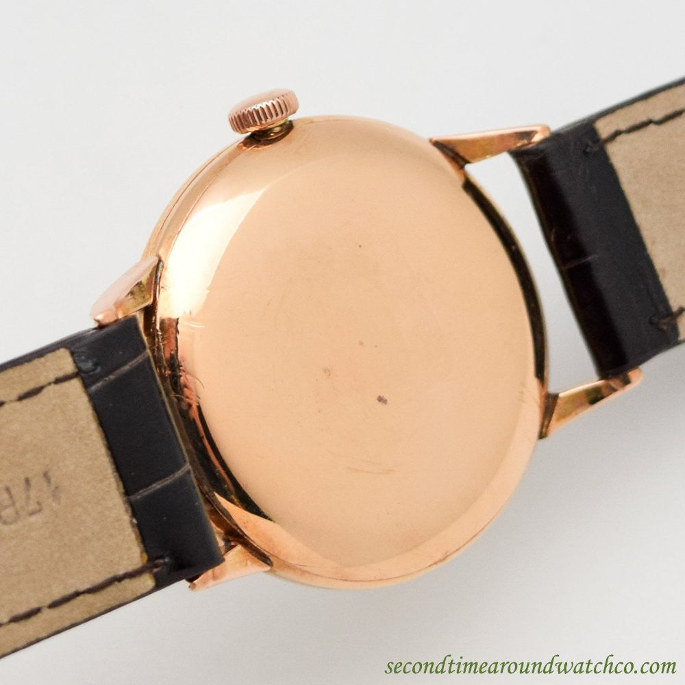 1946 Vintage Longines 14k Rose Gold Watch