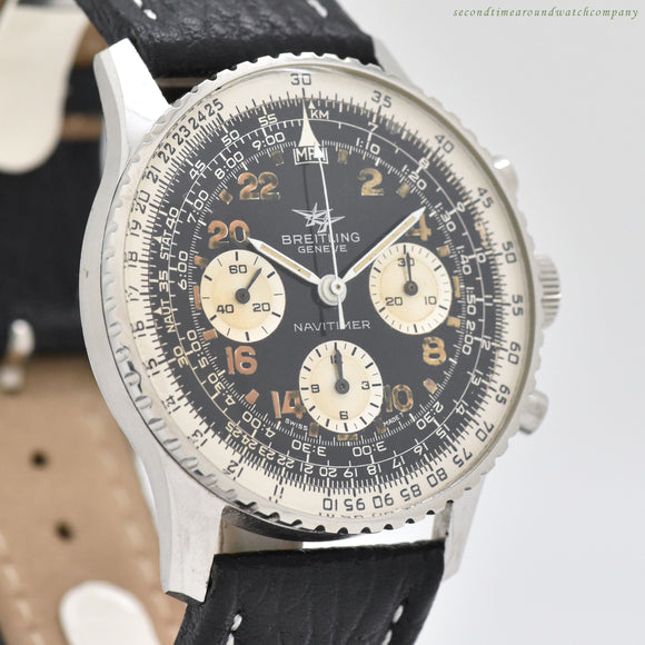 1967 Vintage Breitling Navitimer Reference 809 Stainless Steel Watch