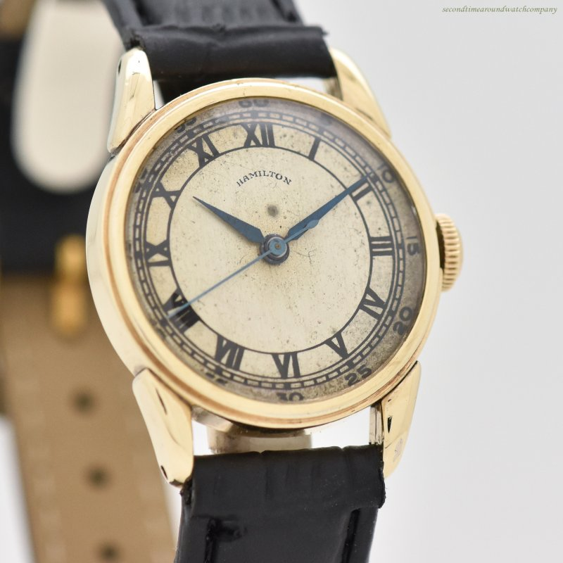 1941 Vintage Hamilton 10k Yellow Gold Filled Watch