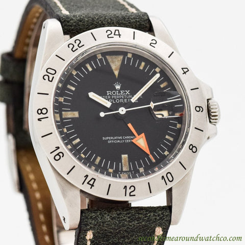1971 Vintage Rolex Explorer II Ref. 1655 Stainless Steel Watch