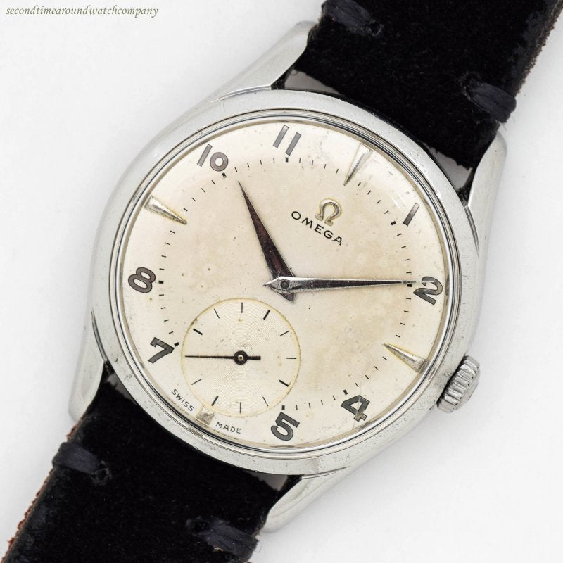 1951 Vintage Omega Ref. 2639-6 Stainless Steel Watch