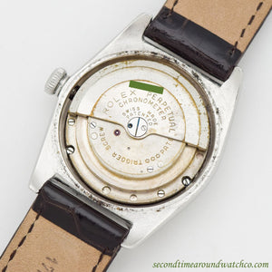 1947 Vintage Rolex Bubbleback Ref. 2940 Stainless Steel Watch