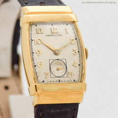 1952 Vintage Hamilton Foster 10K Yellow Gold Filled Watch