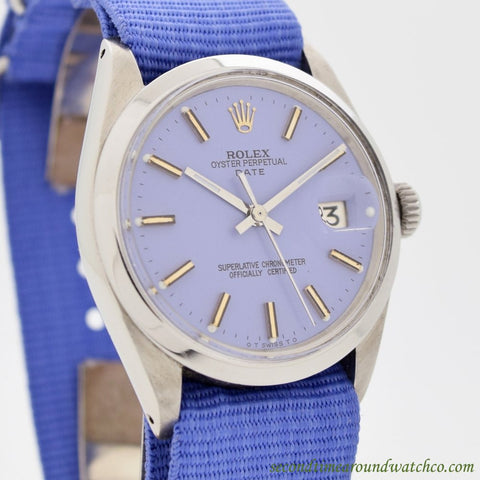 1971 Vintage Rolex Date Automatic Ref. 1500 Stainless Steel Watch