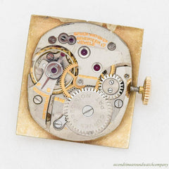 1944 Vintage Gruen Curvex Precision 10k Yellow Gold Filled Watch