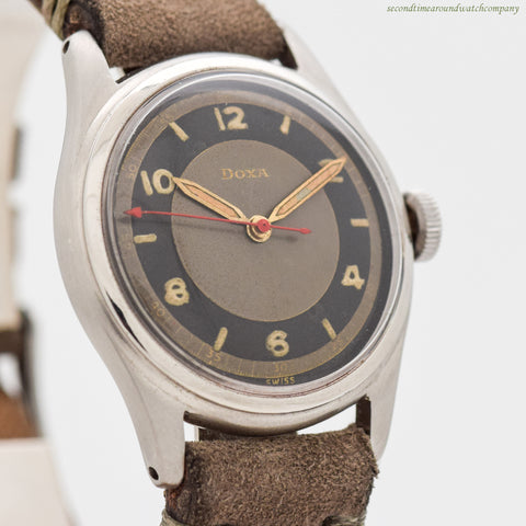 1950's Vintage Doxa Stainless Steel Watch