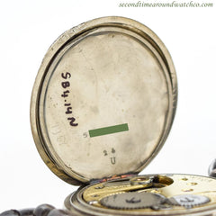 1912 Vintage Omega Nickle Watch