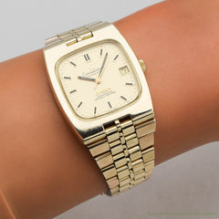 1971 Vintage Omega Constellation Ref. V-6330 14k Yellow Gold Filled & Stainless Steel Watch