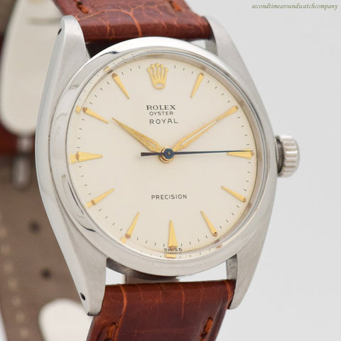 1961 Vintage Rolex Oyster Royal Reference 6426 Stainless Steel Watch