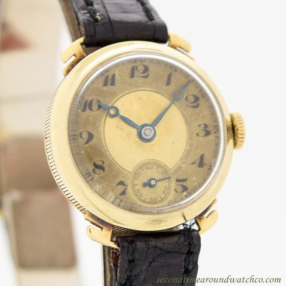 1926 Vintage International Watch Co. Ladies 14k Yellow Gold Watch