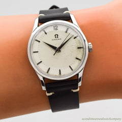 1954 Vintage Omega Reference 26409-10-SC Stainless Steel Watch