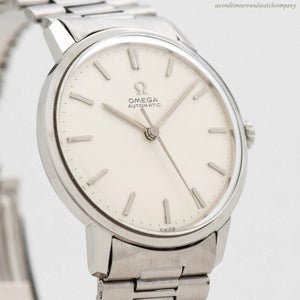 1963 Vintage Omega Ref. 165.002 Stainless Steel Watch