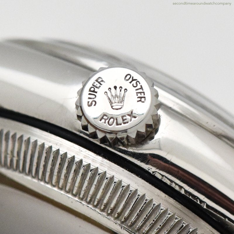 1950 Vintage Rolex Bubbleback Reference 6050 Stainless Steel Watch