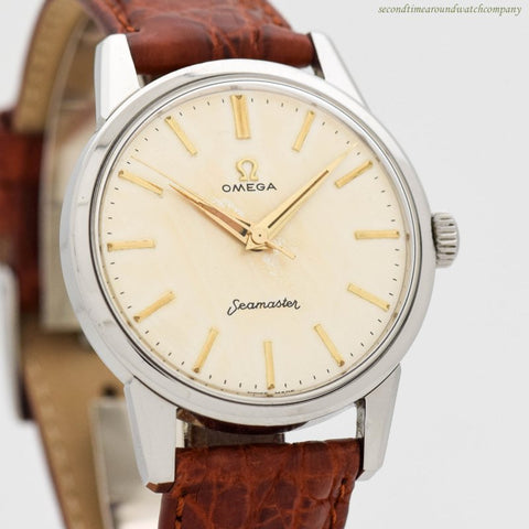 1958 Vintage Omega Seamaster Ref. 14390-1 Stainless Steel Watch