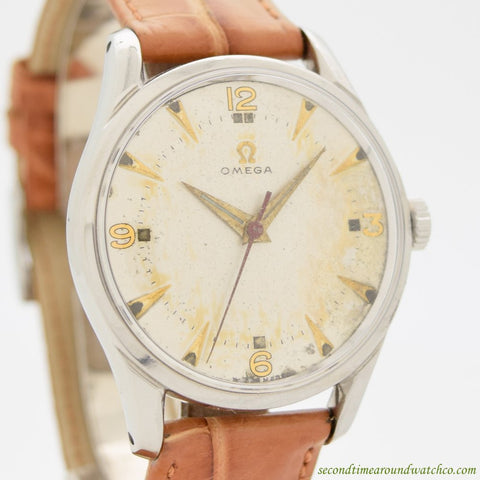 1944 Vintage Omega Ref. 2639-2 Stainless Steel Watch