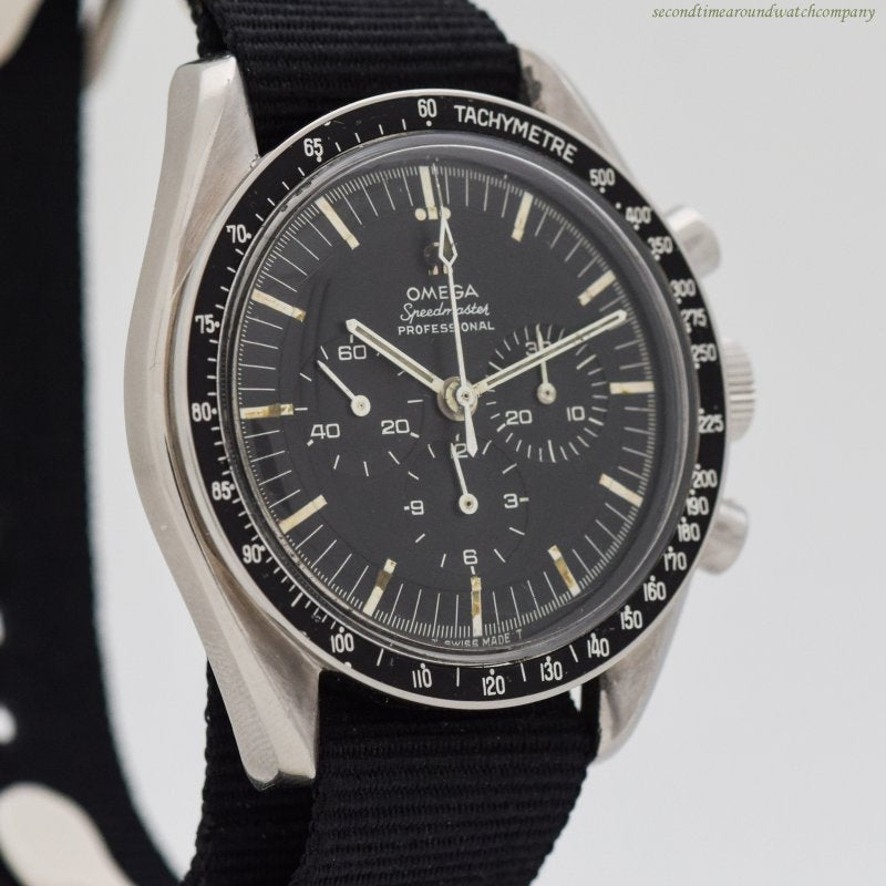 1968 Vintage Omega Speedmaster Pre-Moon Stainless Steel Watch