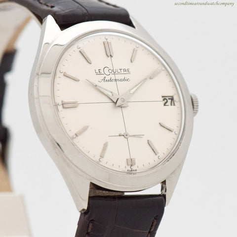1960's Vintage Jaeger LeCoultre Automatic Stainless Steel Watch