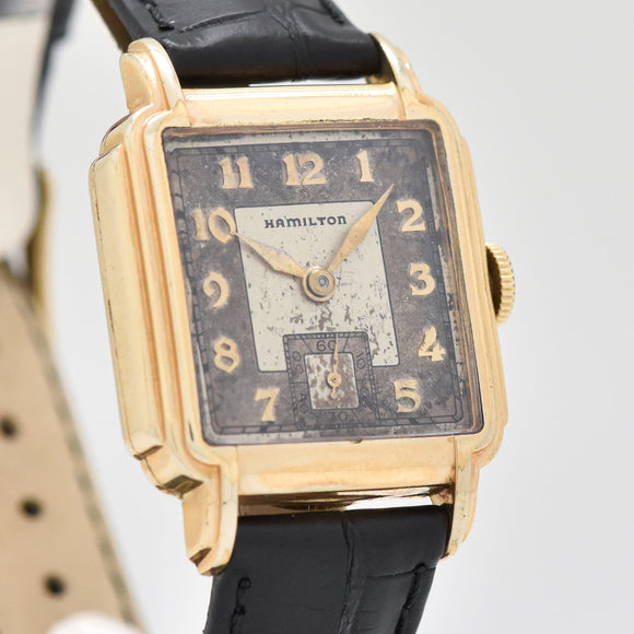 1936 Vintage Hamilton Heyward 10k Yellow Gold Filled Watch