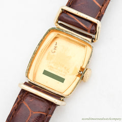 1948 Vintage Hamilton Driver 10k Yellow Gold Filled Watch